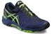 asics Gel-FujiAttack 5 G-TX Shoe Men Black/Green Gecko/Indigo Blue